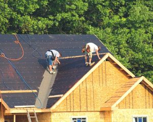 Installing new roof in Frisco TX