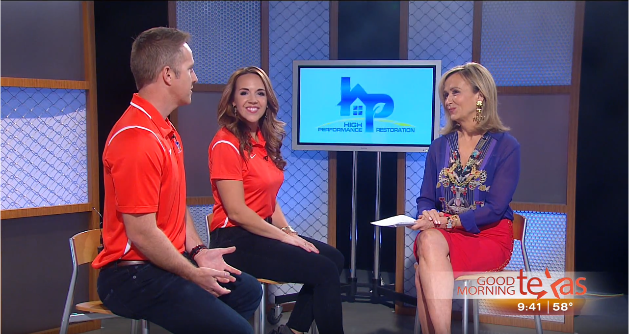 Heidi and Brad on Good Morning Texas
