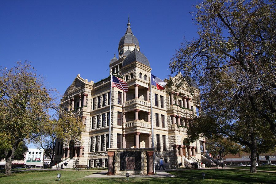 Denton Texas Courthouse