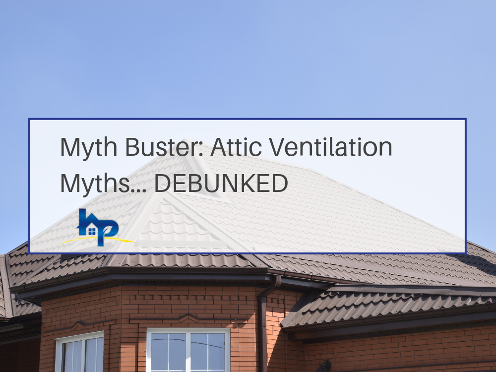 Attic Ventilation Myths Banner - Residential Roofing